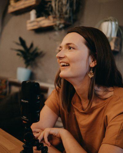 Linda Martišková a její podcast podle sebe